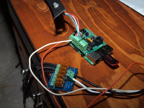 Raspberry Pi running 300 Pixels